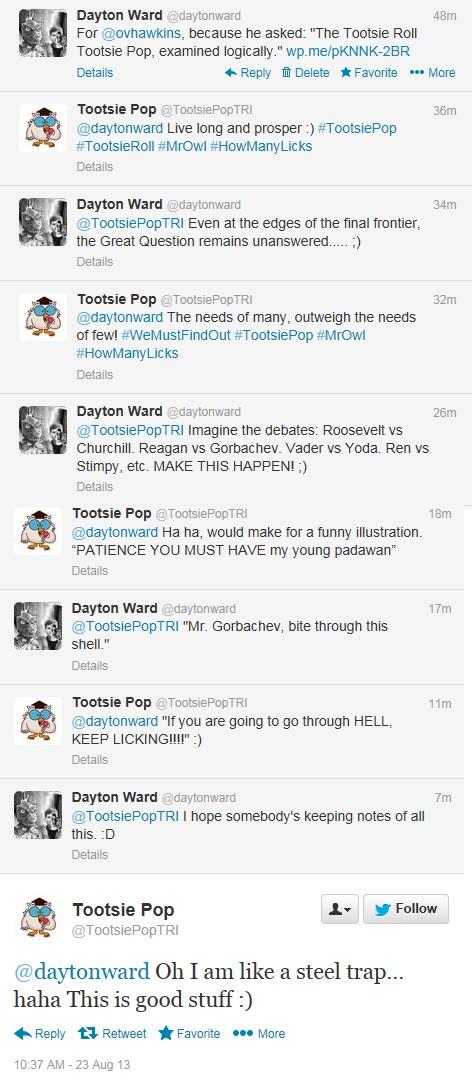Ward-Tootsie-tweets