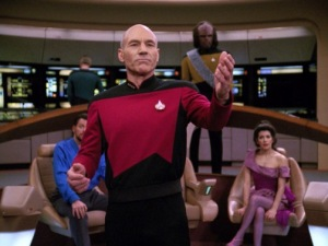 picard-orating