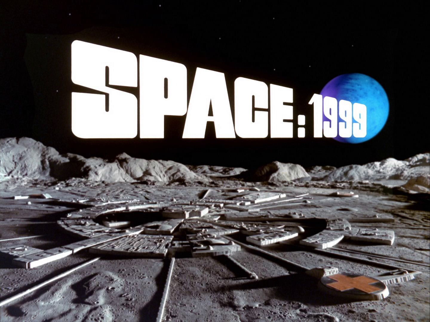 Space: 1999 TV series title card.