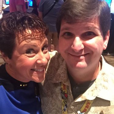 """with Christine Rideout, aka """"Starfleetmom"""" or """"the Master Chief."""""""