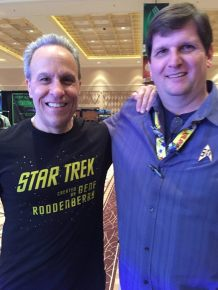 with the Steely Eyed Missile Man himself, Doug Drexler.