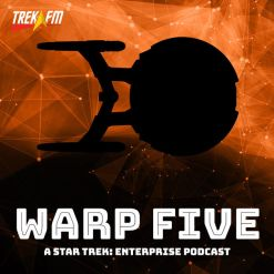 Warp Five Podcast Logo