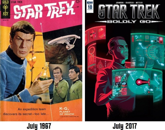 50-years-trek-comics