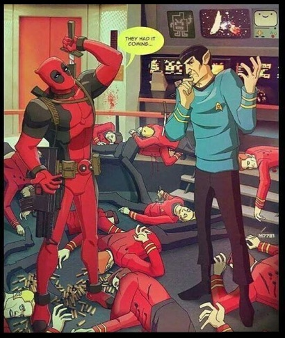 Deadpool-Spock