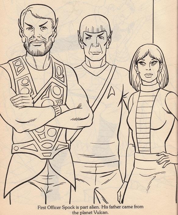 Spock-ColoringBookPage