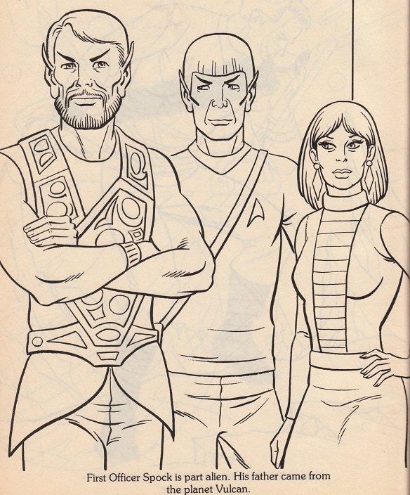 Spock-ColoringBookPage