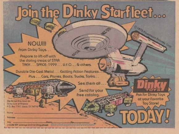 Dinky-StarTrek-Space1999