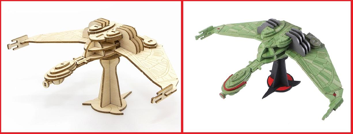 KlingonBOP-IncrediBuild Model