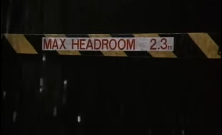 """Max Headroom 2.3m"""